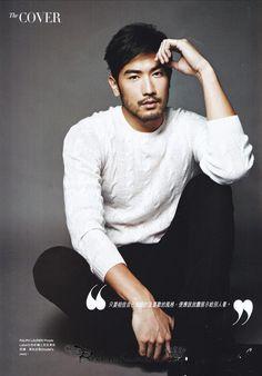 Godfrey Gao for Harper's Bazaar Men HK Fall/Winter 2014