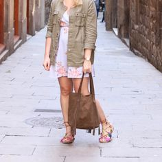 Clementine the beautiful fashion influencer @parisgrenoble is wearing our boho AMY BAG handmade from suede !