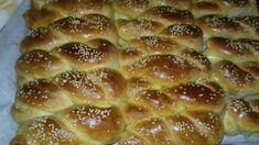 Hot Dog Buns, Hot Dogs, Eat Greek, Easter, Cookies, Breads, Food, Crack Crackers, Essen
