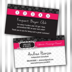 How To Sell Avon An Avon Reps Best Tips For Being Wildly - Avon business card template