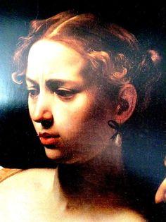 Caravaggio (1571 - 1610)  Judith and Holofernes, 1599- details