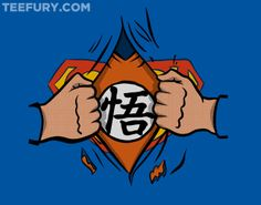 Super Saiyan Man by Azafran - Shirt sold on February 7th at http://teefury.com - More by the artist at http://www.redbubble.com/people/azafran