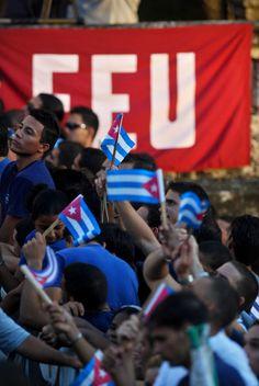 Enamorarse de los 90: La Federación Estudiantil Universitaria, organización joven más antigua de Cuba, celebrará su cumpleaños 90 el próximo 20 de diciembre