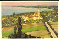 Keszthely; Szent Terézke karmelita temploma és kol... | Képcsarnok | Hungaricana