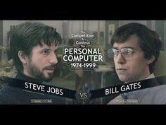 American Genius Jobs vs Gates | National Geographic | HD 720P Documentary