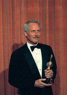 폴 뉴먼 (Paul Newman) 의 Golden Globe Awards 수상 & 소감