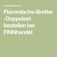 Flammlachs-Bretter-Doppelset bestellen bei FINNhandel
