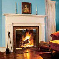 Add Glass Fireplace Doors