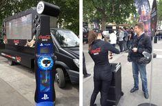 Streetplanneur >> Coca Cola Zero lance son nouveau roadshow gaming avec Playstation et EA Sports