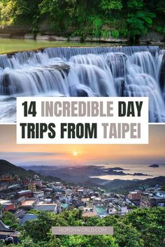 14 Epic Day Trips From Taipei You Can't Miss | Hoponworld Taiwan Travel, Asia Travel, Travel Guides, Travel Tips, Taipei Taiwan, Amazing Destinations, Day Trips, The Good Place, Places To Go