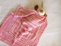 It is a girl Pink Of Shades Afghan Bamboo Baby by allapples, $50.00