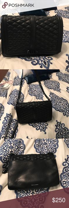 Rebecca Minkoff Handbag Rebecca Minkoff Jumbo Love Crossbody has adjustable chain to be worn as crossbody or as a single bag over shoulder -- Black has not been in stock since the release! Rebecca Minkoff Bags Crossbody Bags