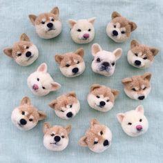 來一碗「比熊」口味的哈根達斯?萌到你站不穩的狗狗羊毛氈 | instagram、TRIKOTRI222、羊毛氈、柴柴、Tsubasa Kuroda | 微文青 | 妞新聞 niusnews