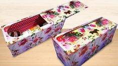 Amazing Recycling Craft Idea from Old Cardboard Box Cardboard Organizer, Cardboard Box Crafts, Cardboard Jewelry Boxes, Paper Crafts, Easy Diy Crafts, Recycled Crafts, Diy Craft Projects, Crafts To Make, Diy Organization