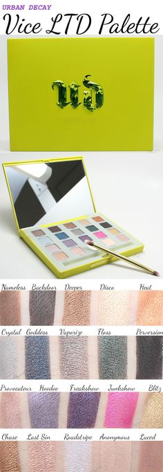 Don't miss out on the Urban Decay Vice LTD palette! Available soon! See the post for details.