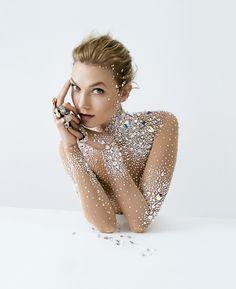 "Karlie Kloss shot by Tim Walker for Crystals from Swarovski campaign ""Brilliant Inspiration"""