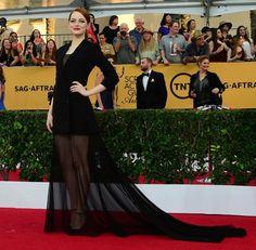 Emma Stone - SAG AWARDS 2015