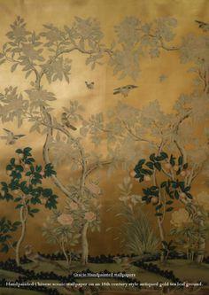 Gracie hand painted wallpaper   issuu