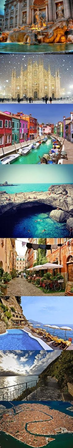 The best place to visit in June - Italy -