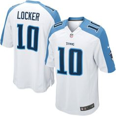 7e6caa1d4d7 Jake Locker Tennessee Titans Nike Youth Game Jersey - White