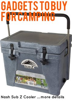 Nash Sub Z Cooler … (This is an affiliate link) #campingkitchen