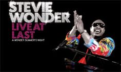 Stevie Wonder is an icon in the music industry.  Dates available now for his Live At Last Tour.
