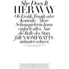 Harper's Bazaar Germany Editorial December-January 2014-15 ❤ liked on Polyvore featuring words, articles, text, magazine, quotes, phrase and saying