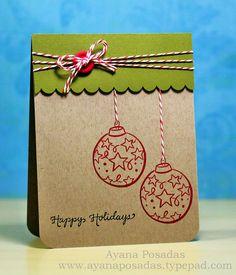 DeNami Ornaments (Kraft) by AyanaP., via Flickr