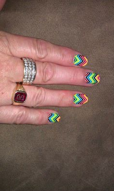 Multi Chevron, MY FAVORITE!!!  karismith.jamberrynails.net