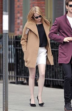 Emma Stone in NYC