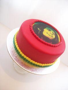 Bob Marley Cake . I so want one