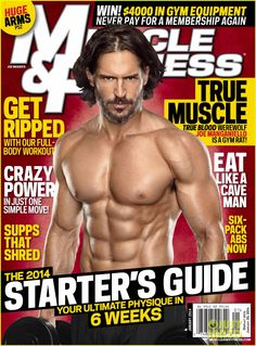 d38b24d11686 Joe Manganiello Gives Inside Look to His Shirtless Workout!  Photo Joe  Manganiello shows off those signature eight back abs while going shirtless  for the ...