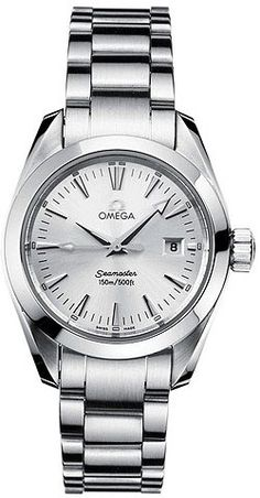 The newest evolution of Omega's highly regarded SeaMaster series, the Aqua Terra delivers bold sporty styling and superior performance, on land or at sea.