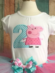Peppa Pig cumpleaños traje-Peppa Pig-Peppa Tutu-traje de