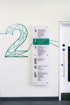伦敦帝国学院(商学院部分) 导视系统 设计圈 展示 设计时代网-Powered by thinkdo3