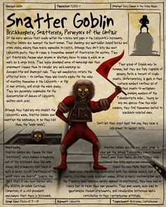 Labyrinth Guide-Snatter Goblin by Chaotica-I on deviantART