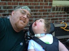 'Daddy's girl': Ex-wrestler devotes his life to caring for disabled daughter