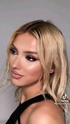 Casual Makeup, Glam Makeup, Skin Makeup, Beauty Makeup, Day Makeup Looks, Simple Makeup Looks, Pretty Makeup, Asian Eye Makeup, Smoky Eye Makeup