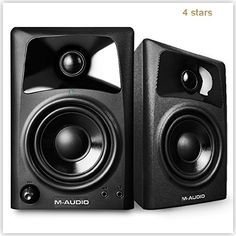 M Audio Computer Speakers Playback Immersive