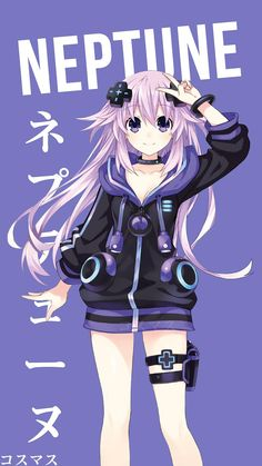 Neptune ~ Korigengi | Wallpaper Anime