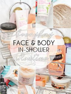 Everyday Face & Body In-Shower Routine
