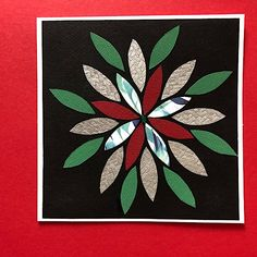 Flower petal card for any occasion