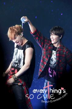 EunHae #SS5London. Our Happy Fish in his natural habitat.