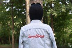 DIY Embroidered Jacket | Signature Jacket | How to Customize Denim Jacket