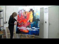 ▶ Démonstration de peinture abstraite par Jadis 5 +
