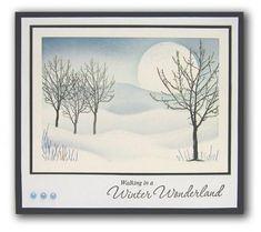 Inkylicious Walking in a Winter Wonderland