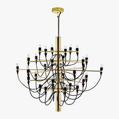 Gino Sarfatti Chandelier | Designer Lamps | VOGA