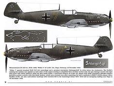 1935-1945 Messerschmitt Bf 109. Luftwaffe, HAF, ANP, RRAF - Fighter. Engine: Daimler-Benz DB 605A-1, liquid-cooled inverted V12, 1,475 PS (1,475 hp, 1,085 kW). Armament: 2 x 13 mm (.51 in) synchronized MG 131 machine guns, 1 x 20 mm (.78 in) MG 151/20 can