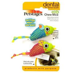 Catnip Teeth Flossing Mice Cat Toy - Cat Lovers Australia