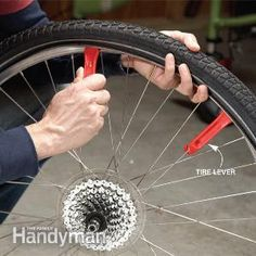 Follow these simple steps for replacing a punctured bicycle tube. You can even fix the flat on the go if you have a spare tube, tire levers and a pump.